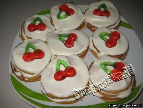 Печенье вишенка ️