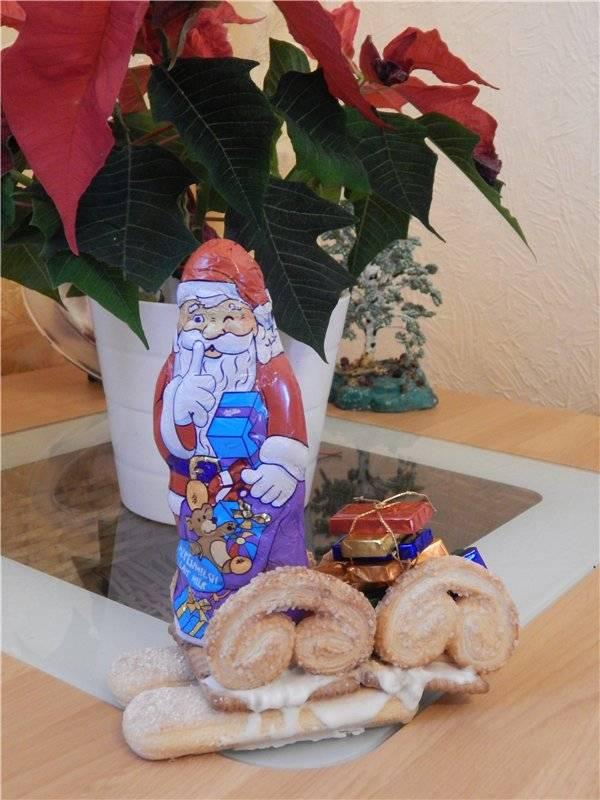 Новогодний торт  «весёлый дед мороз»