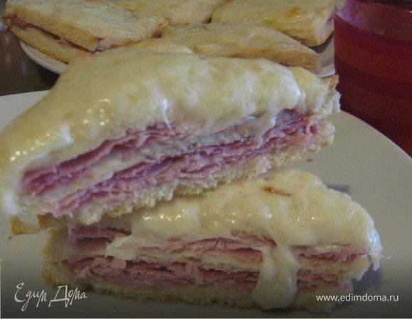 """Сэндвич """"крок месье"""""""