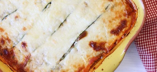 Как приготовить лазанью из кабачков по пошаговому рецепту с фото