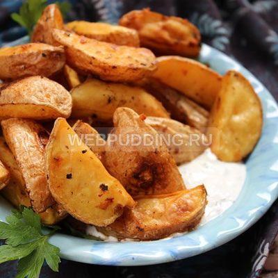 Картошка по деревенски в духовке рецепт с фото