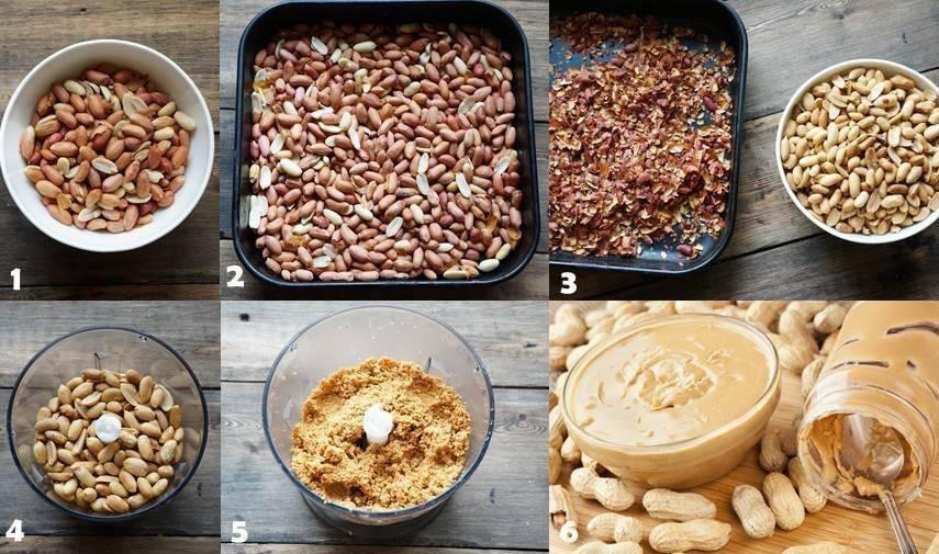 С чем есть арахисовую пасту?