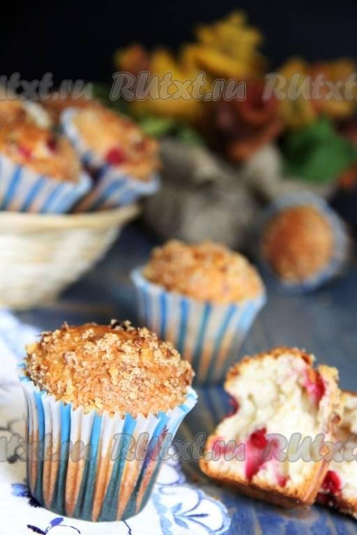 Кекс с ягодами - пошаговый рецепт с фото |  выпечка