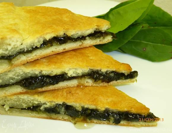 Сладкий пирог со щавелем - пошаговый рецепт с фото |  выпечка
