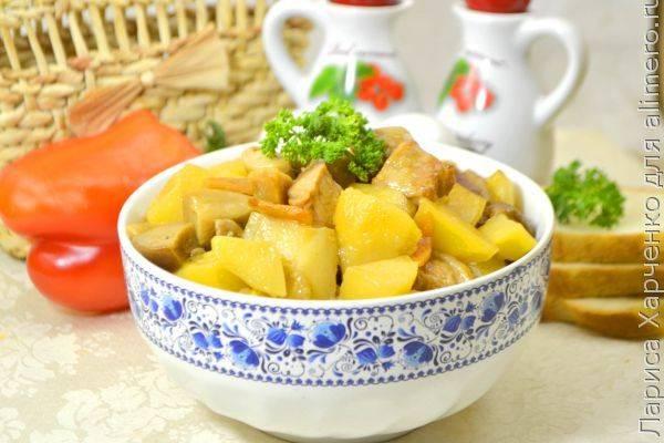 Как приготовить вкуснейшее жаркое из свинины с белыми грибами - суперпростой рецепт
