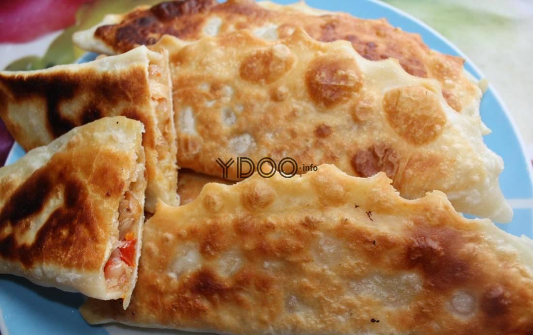 Рецепт чебурека с капустой пошагово с фото или готовим дома чебуреки