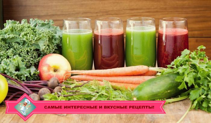 Польза и вред смузи из яблока и сельдерея, моркови, огурца