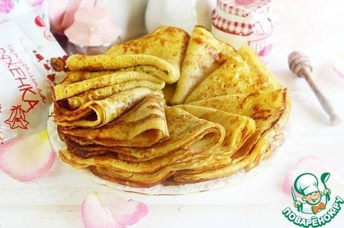 Блины на майонезе: рецепт с фото пошагово. как приготовить блинчики на майонезе и яйцах?