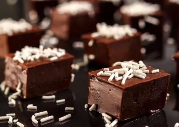 Домашний шоколадный щербет за 15 минут