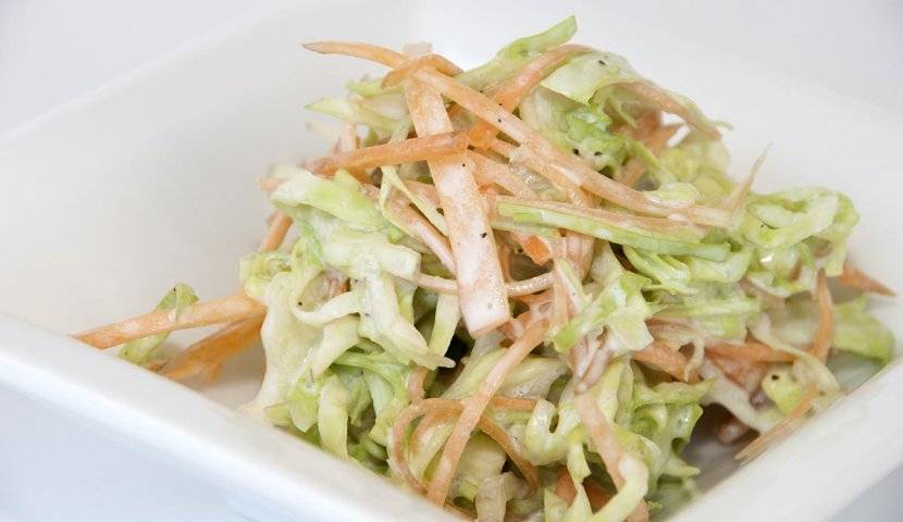 Салат с капустой