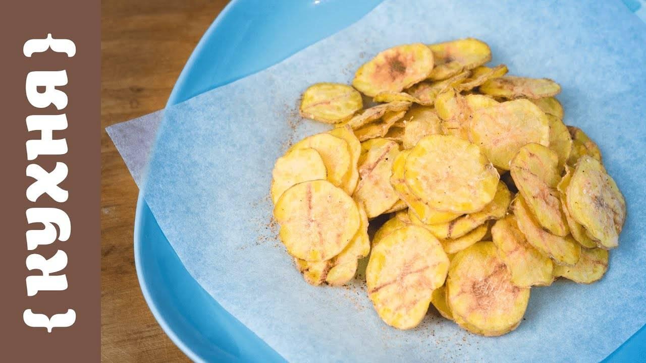 Полезные чипсы из фруктов и овощей: 10 потрясающих домашних рецептов