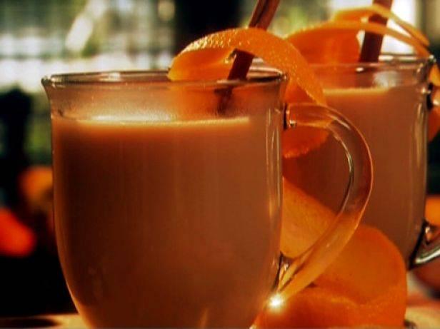 Яблочный чай с апельсином и корицей