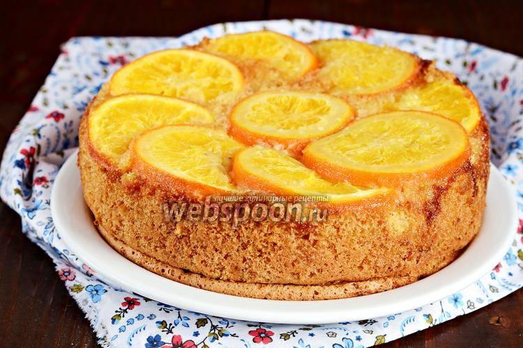 Пирог с мандаринами – 10 самых простых и вкусных рецептов приготовления