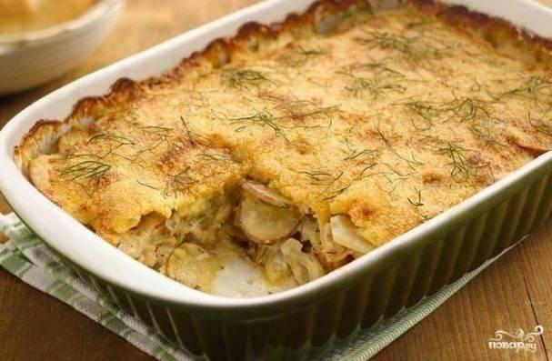 Гратен из картофеля. пошаговый рецепт с фото