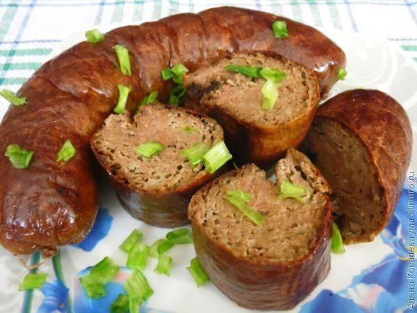 Печёночная колбаса с гречкой - рецепт с фотографиями - patee. рецепты