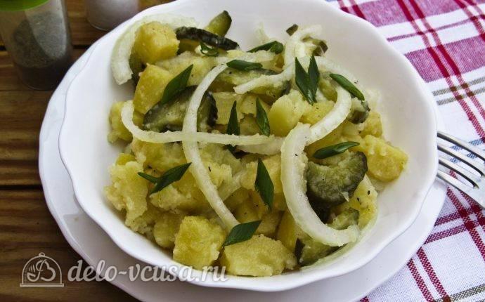 Запеченные картофельные оладьи