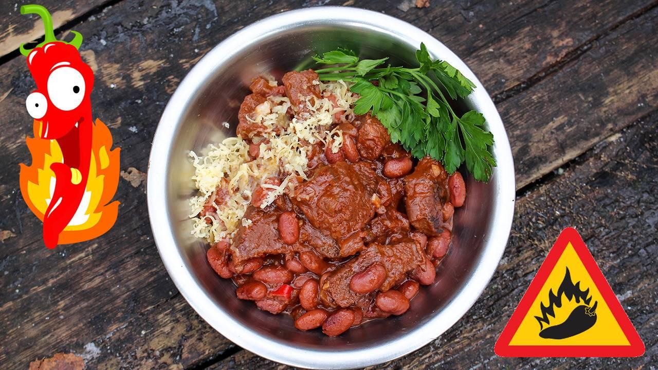 Чили кон карне — мясо с фасолью и острым перцем - рецепты джуренко