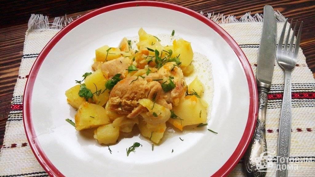 Как приготовить тушеный картофель с кабачками, овощами, курицей или мясом