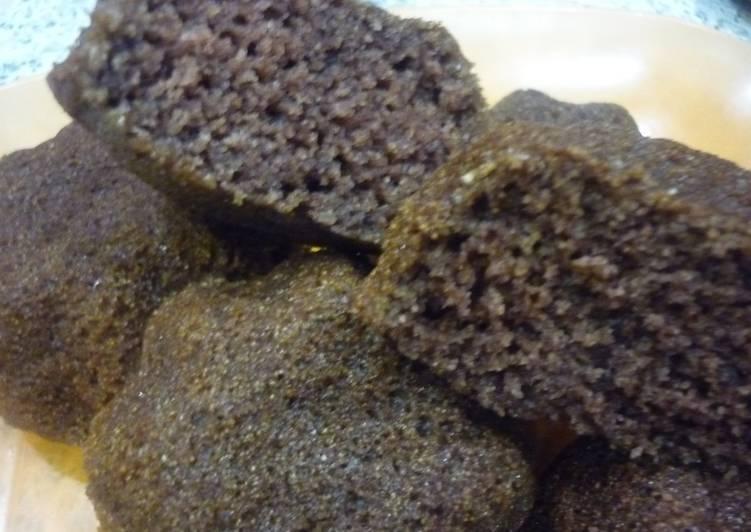 Манные кексы с изюмом