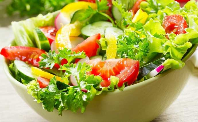 Овощные салаты на праздничный стол
