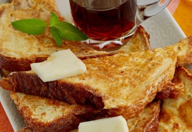 Ванильные французские тосты