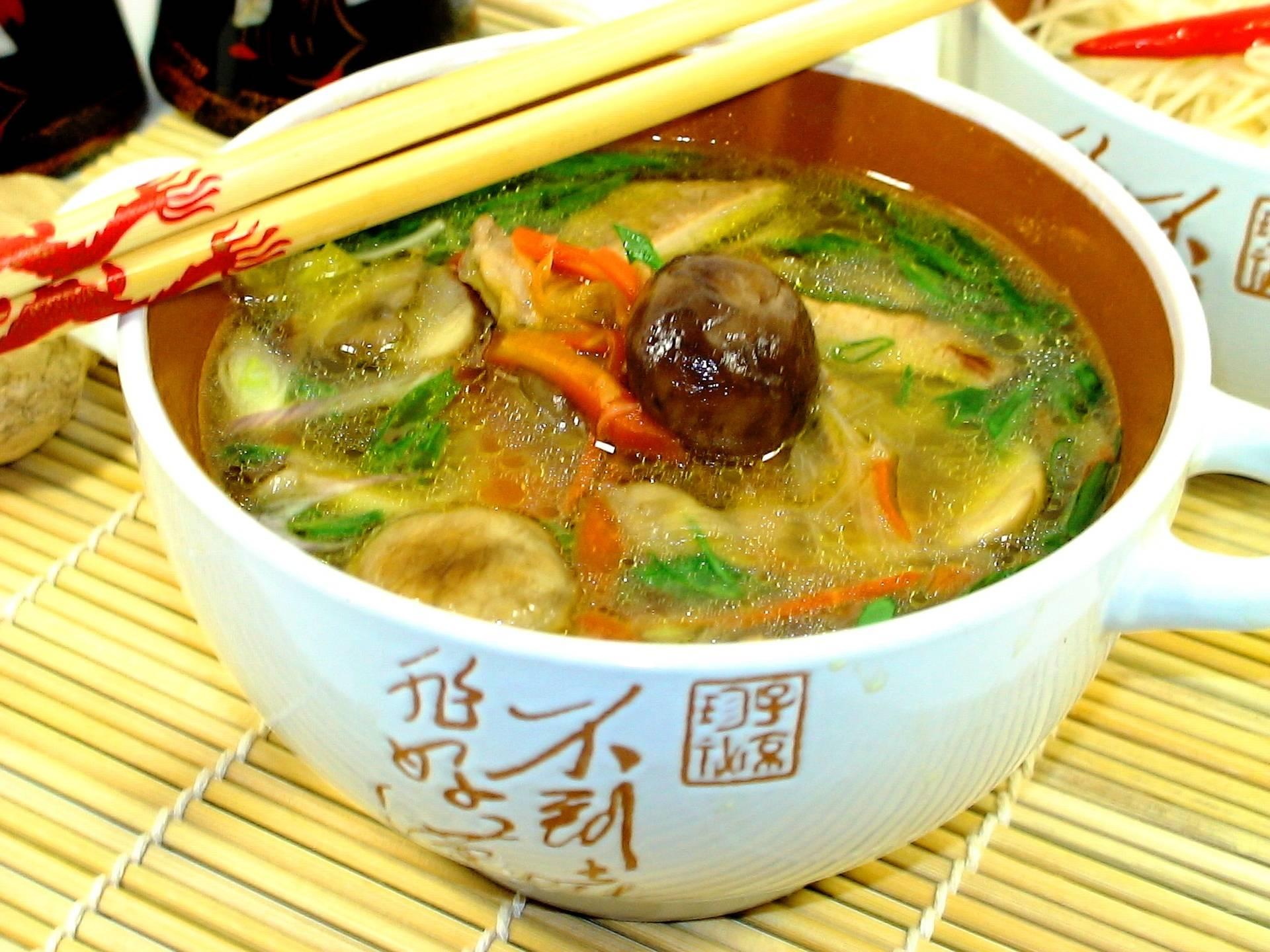 Свинина в имбирном соусе по-китайски