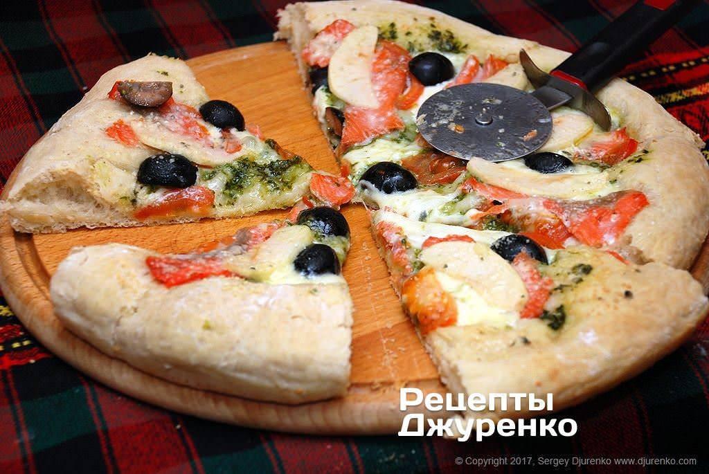 Блинная пицца порционная