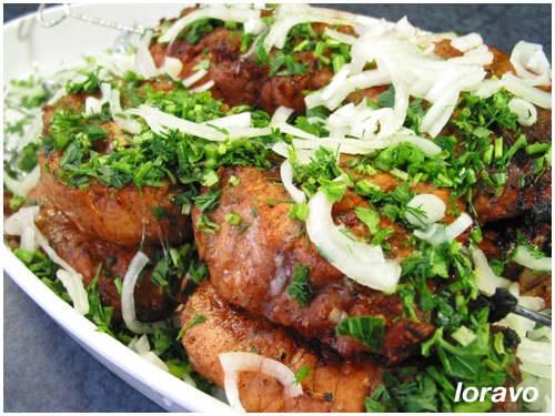 Рецепт армянского шашлыка из свинины. армянский шашлык из свинины - рецепт