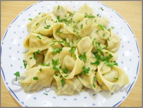 Идеально в холода: ароматный узбекский суп «чучвара» с пельменями
