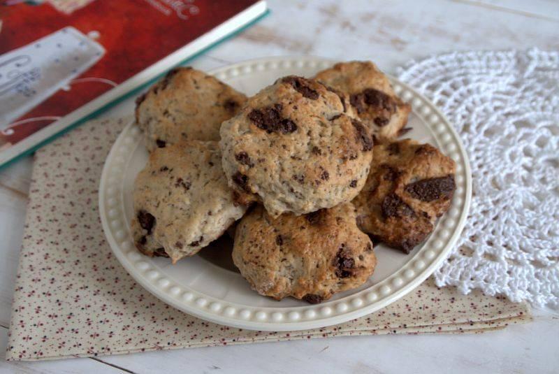 Овсяное печенье с черносливом и курагой