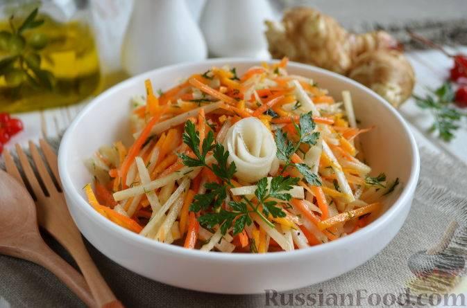 Как приготовить вкусный и полезный салат из топинамбура?