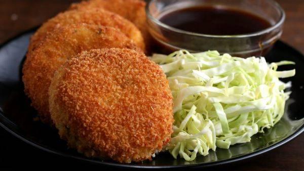 Картофельные крокеты (шарики) | рецепт с фото