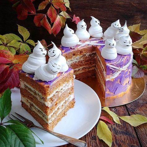 Тыквенные пирожные