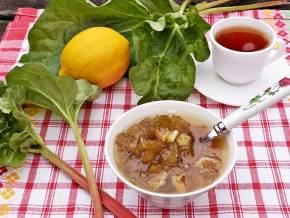 Как сварить вкусное варенье из ревеня с сохранением витаминов