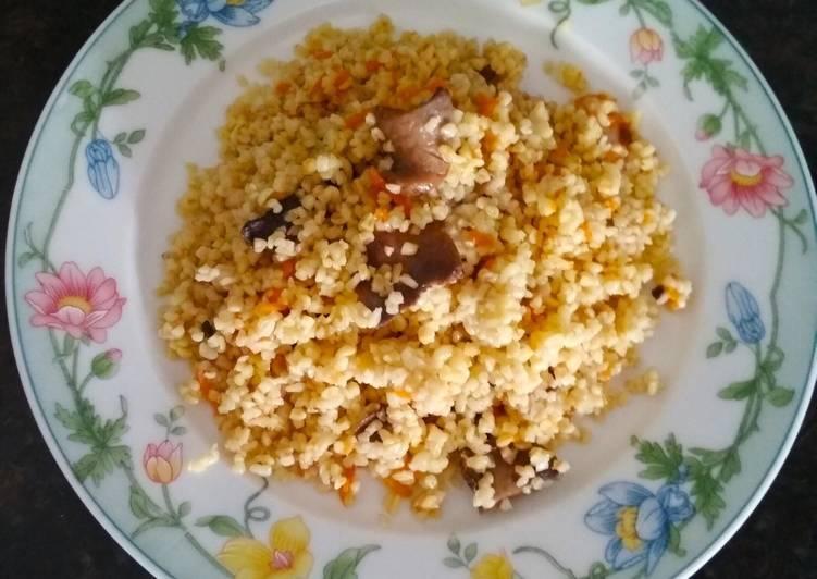 Рецепты булгур с грибами