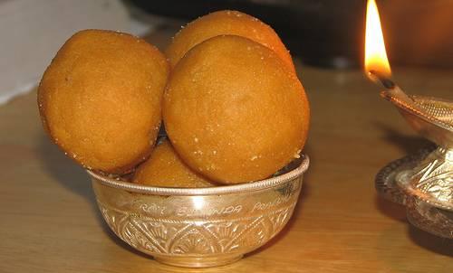Рецепт индийской сладости ладду