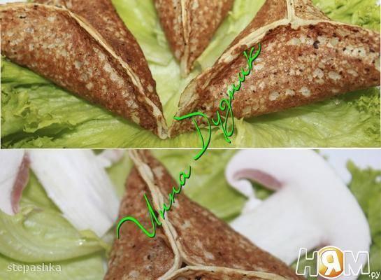 Арабские дрожжевые блинчики «катаеф». рецепт с грибной и яблочной начинками