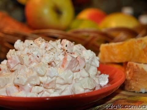 Салат из моркови и яблока для похудения: рецепты