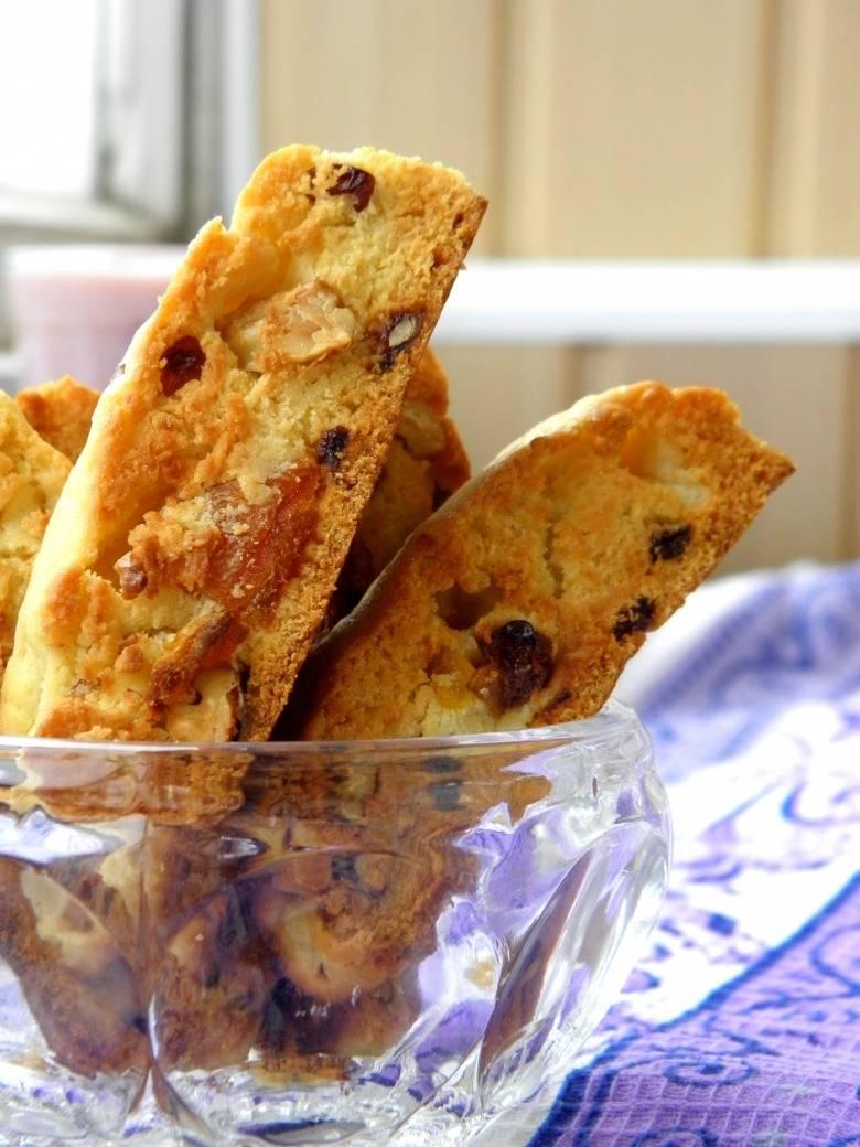 Итальянское печенье бискотти классический рецепт