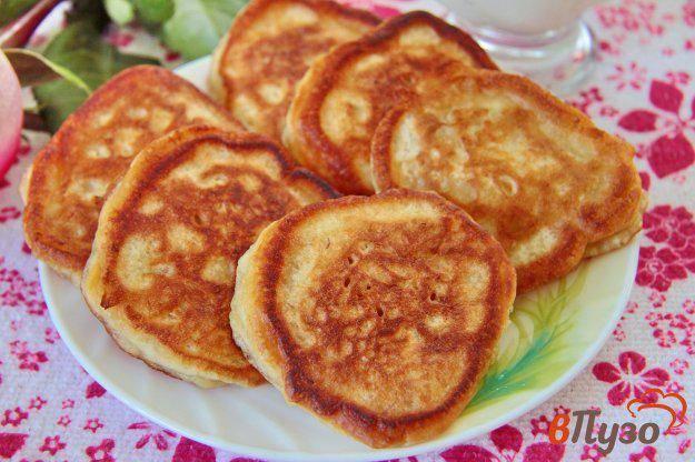 Блинчики с яблоками и корицей. пошаговый рецепт с фото