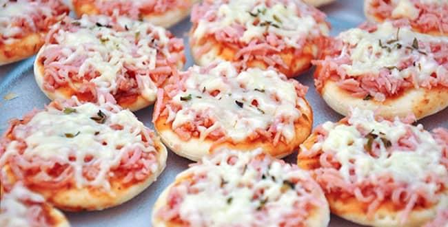 Пицца из тонкого лаваша