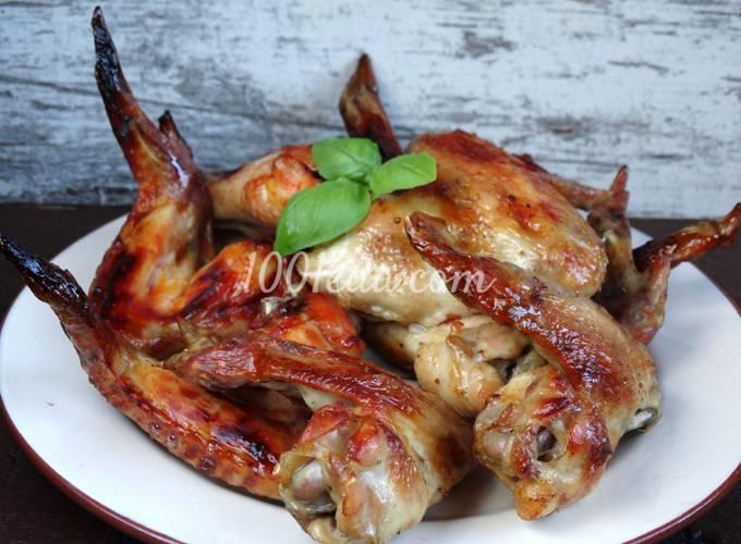 Крылышки куриные на газ гриле