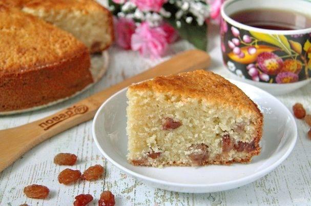 Рецепт кекса с изюмом в мультиварке - 10 пошаговых фото в рецепте