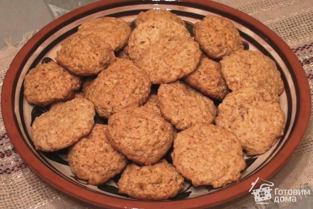 Печенье с корицей и грецким орехом