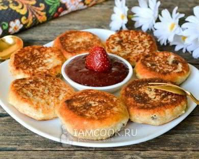 Сырники без муки и сахара - 8 пошаговых фото в рецепте