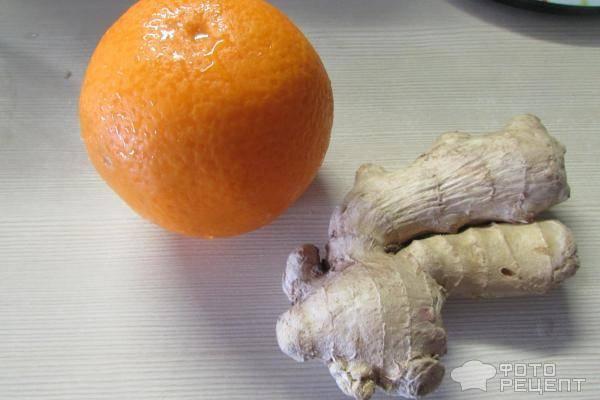 Куриное филе в имбирно-апельсиновом соусе