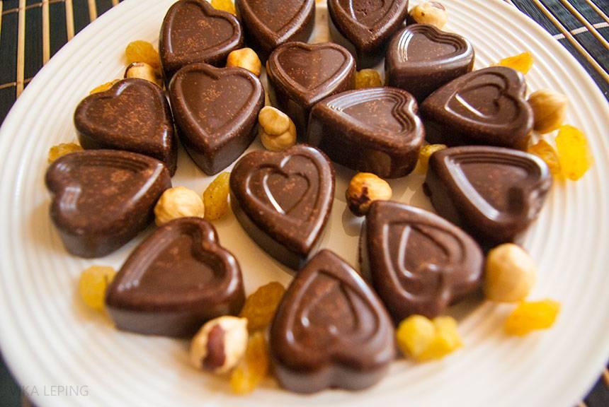 """Шоколадные конфеты """"не в шоколаде суть"""""""