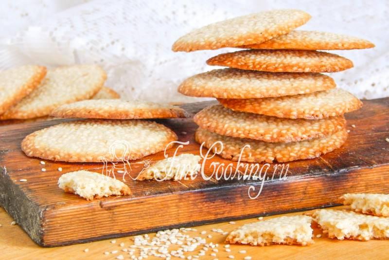 Рецепты приготовления кунжутного печенья
