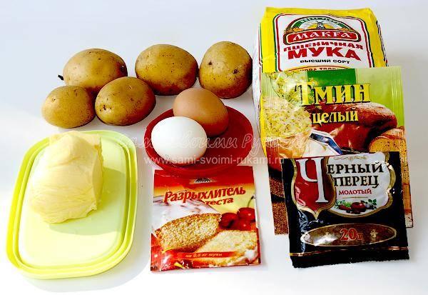 """Норвежские картофельные лепешки лефсе """"страна сказок и легенд"""""""