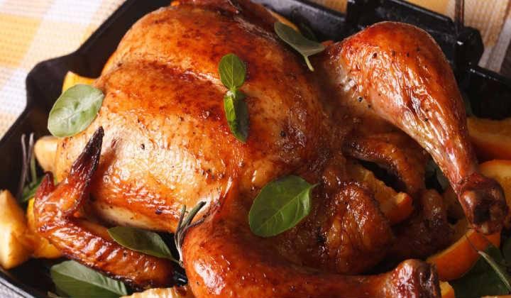 Куриные бедра с коричневым сахаром и лимоном